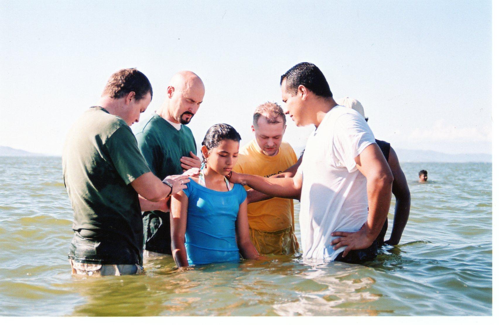 Ocean side baptisms