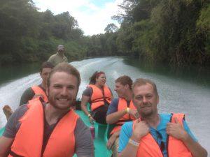 Las Guacamayas boat ride