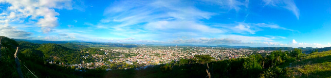 Comitan panoramic view