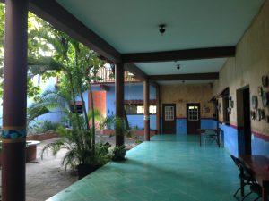 Bridgeway School of Missions courtyard-hallway